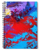 Ride The Red Horse Spiral Notebook
