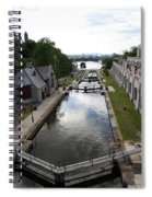 Rideau Canal And Locks - Ottawa Spiral Notebook