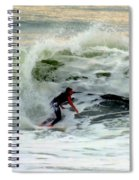 Riding In Beauty Spiral Notebook