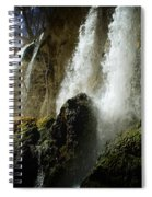 Rifle Falls I Spiral Notebook