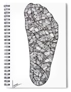 Right Foot Spiral Notebook