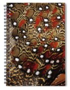 Ring-necked Pheasant Phasianus Spiral Notebook