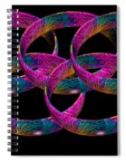 Rings Spiral Notebook