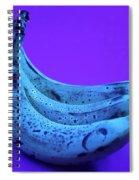 Ripe Bananas In Uv Light 22 Spiral Notebook