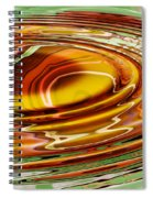 Rippled Abstract Spiral Notebook