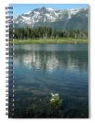 Ripples On Lake Of Mt Tallac Spiral Notebook