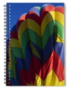 Rising Hot Air Balloons Spiral Notebook