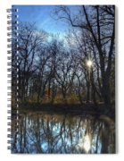 Rising On The River Spiral Notebook