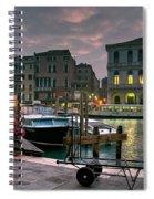 Riva Del Vin. Venezia Spiral Notebook