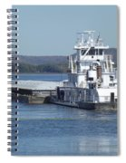 River Barge Spiral Notebook