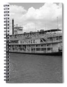 River Boat Queen Spiral Notebook