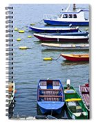 River Boats On Danube Spiral Notebook