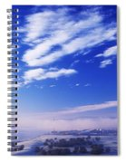 River Foyle, Co Derry, Northern Ireland Spiral Notebook