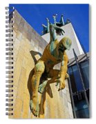 River God Tyne Sculpture IIi Spiral Notebook