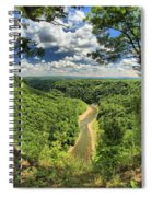 River In The Valley Spiral Notebook
