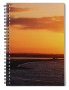 River Liffey, Dublin, Co Dublin, Ireland Spiral Notebook