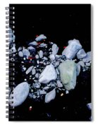 River Rock Spiral Notebook