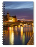 River Seine And The Concierge Spiral Notebook