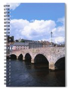 River Slaney, Enniscorthy, Co Wexford Spiral Notebook