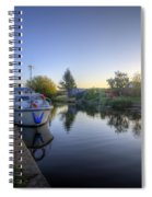 River Sunrise Spiral Notebook