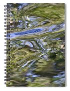 River Swirls - Abstract Spiral Notebook