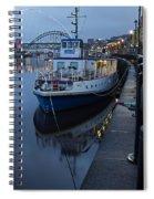 River Tyne Cruise Ship Spiral Notebook