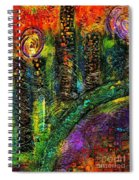 River Walking Downtown Spiral Notebook