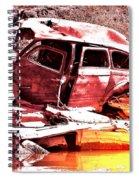 River Wreck Ver2 Spiral Notebook