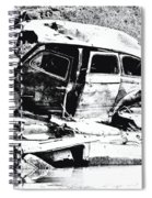 River Wreck Ver3 Spiral Notebook