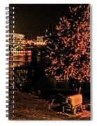 Riverfront 1865-2003 Tall Stacks  By Randall Branham Spiral Notebook