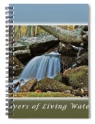 Rivers Of Living Water Spiral Notebook