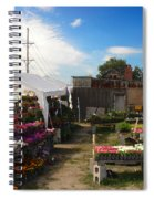 Road Side Stand Spiral Notebook