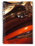 Road Star Spiral Notebook