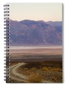 Road Through Death Valley Spiral Notebook
