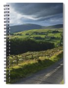 Road Through Glenelly Valley, County Spiral Notebook