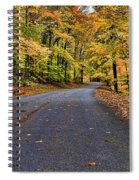 Road To Autumn Spiral Notebook