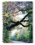 Road To Cat Island La Spiral Notebook