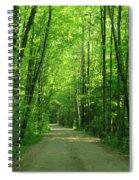 Road To Jasper Woods Spiral Notebook