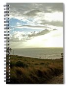 Road To The Ocean Spiral Notebook