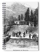 Roanoke: Colony, C1587 Spiral Notebook