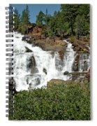 Roaring Falls Glen Alpine Falls Spiral Notebook