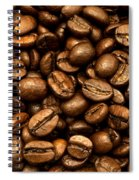 Roasted Coffee Beans Spiral Notebook