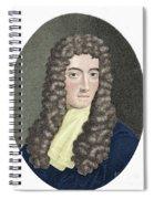 Robert Boyle, British Chemist Spiral Notebook