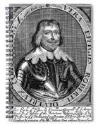Robert Devereux (1591-1646) Spiral Notebook