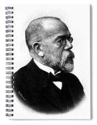 Robert Koch, German Microbiologist Spiral Notebook