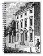 Robert Morris House Spiral Notebook