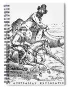 Robert Ohara Burke Spiral Notebook