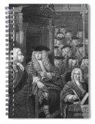 Robert Walpole (1676-1745) Spiral Notebook
