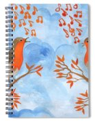 Robin Singing Competition Spiral Notebook