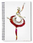 Robot Ballerina Spiral Notebook